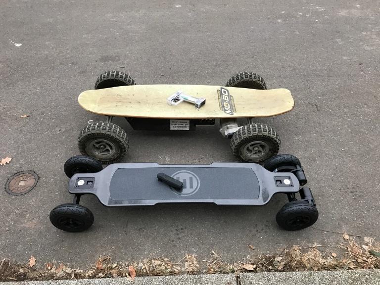 Elektro Skateboard Vergleich