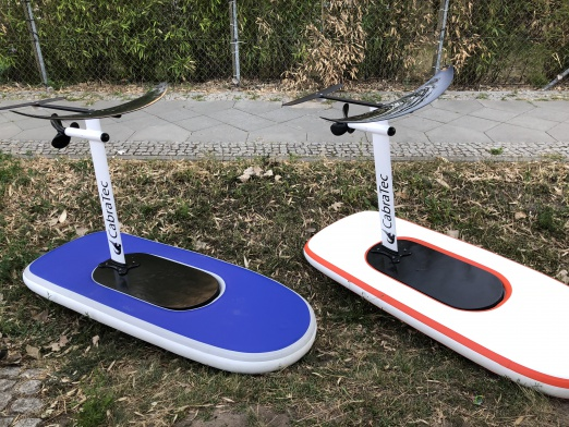 Low budget electric hydrofoil