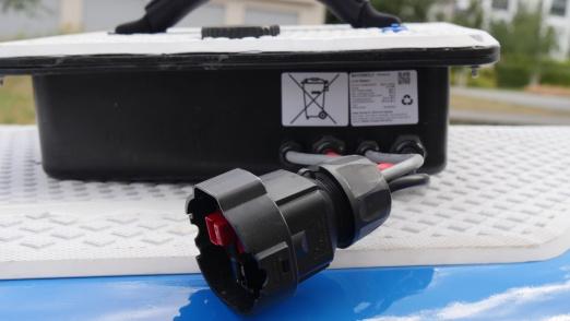 Lithium Ionen Batterie Sicherheitshinweise: Waterwolf E-Surfbrett-Batterie