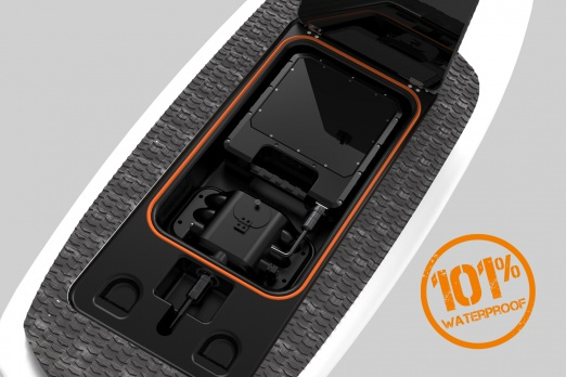 E-TAKUMA waterproof battery pack