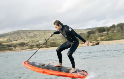 CURF electric surfboard review
