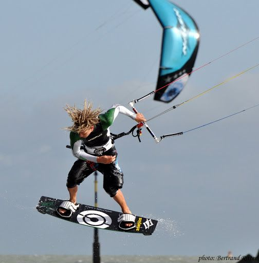 Cyril Coste was a professional kitesurfer