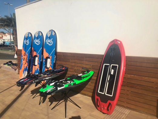 electric surfboard rental Gran Canaria