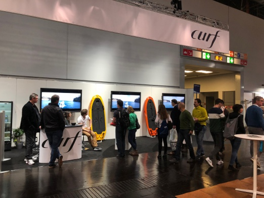 CURF booth at boot 2019