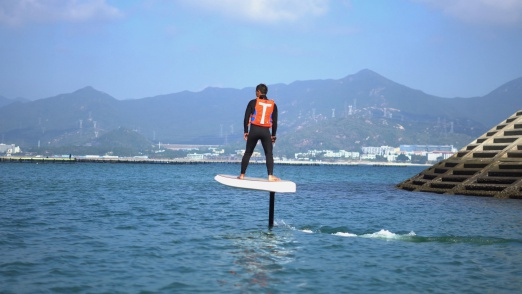 Electric hydrofoil surfboard Waydoo Flyer