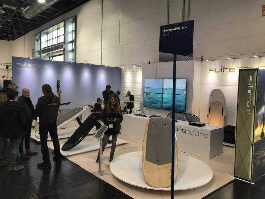 Fliteboard booth at boot 2019