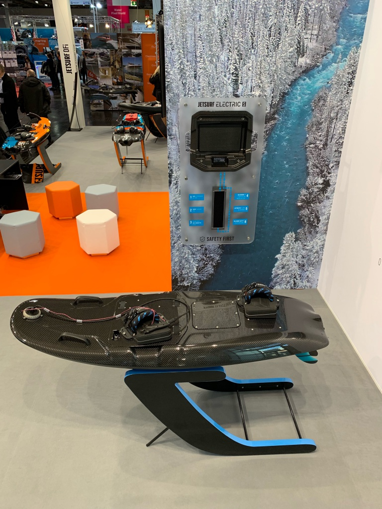 Jetsurf Electric at boot 2019