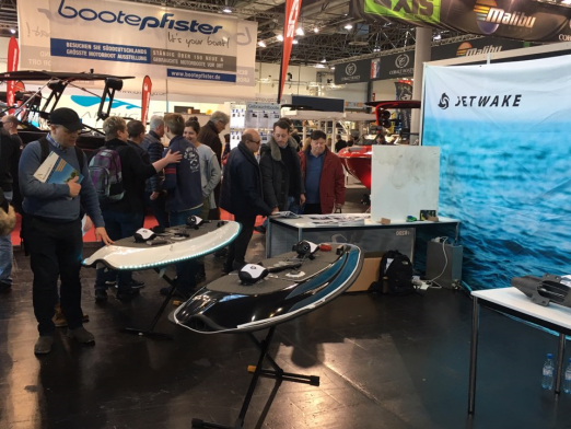 Jetwake B200 at boot 2019