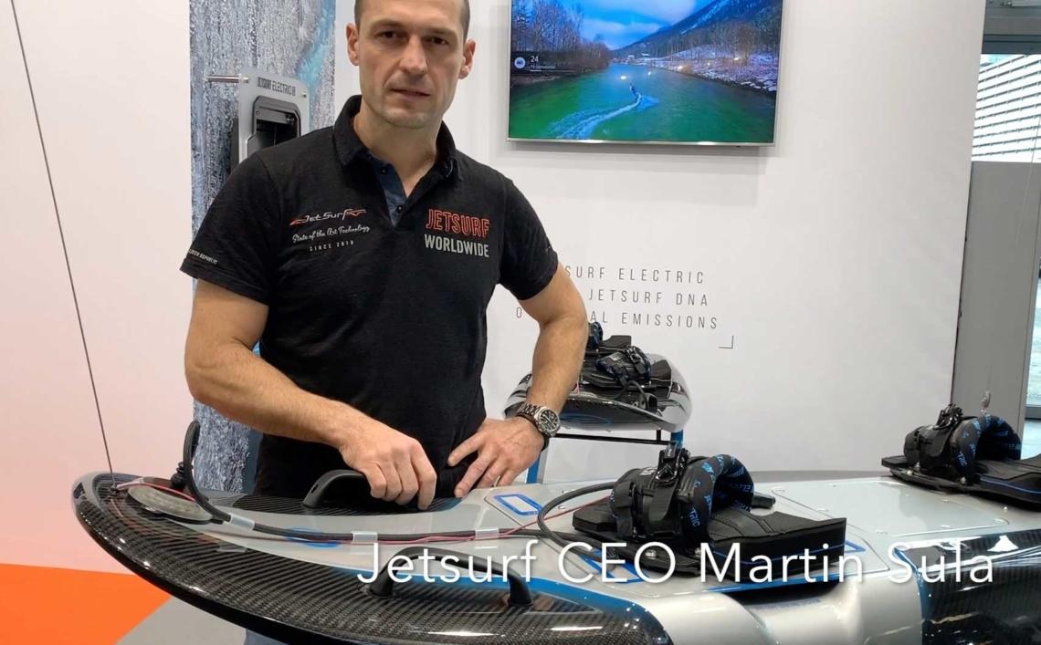Jetsurf CEO Martin Sula