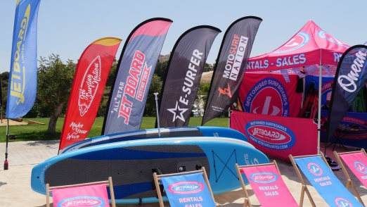 Motorised surfboard events