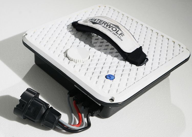 E-Surfbrett Batterie