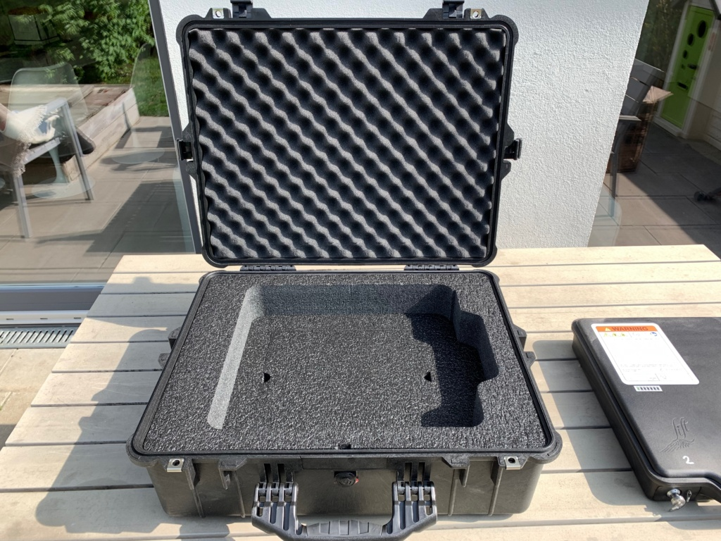 Lithium Ion battery transport box from Lift 2