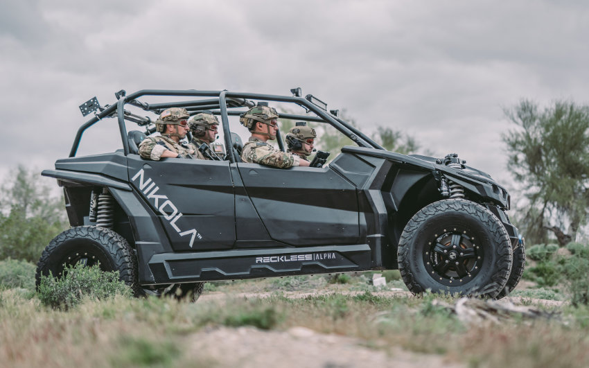 Nikola Motors develops several electric verhicles