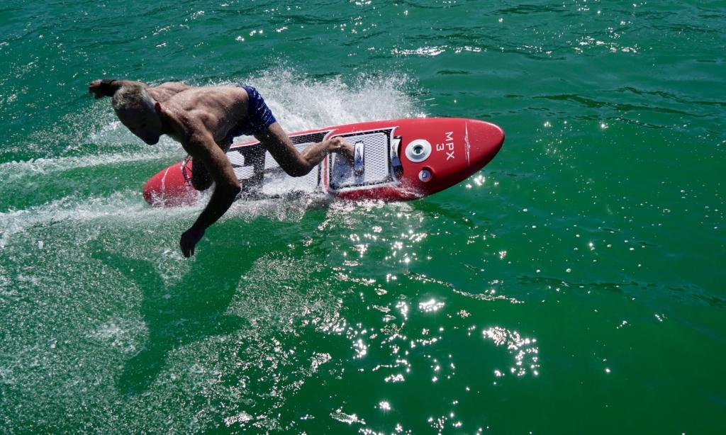 Waterwolf E-Surfer ohne Fernbedienung