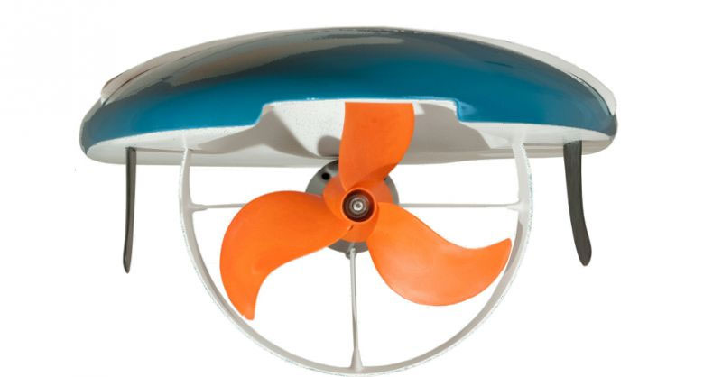 Waterwolf Surfbrett MPX-3 mit Propeller