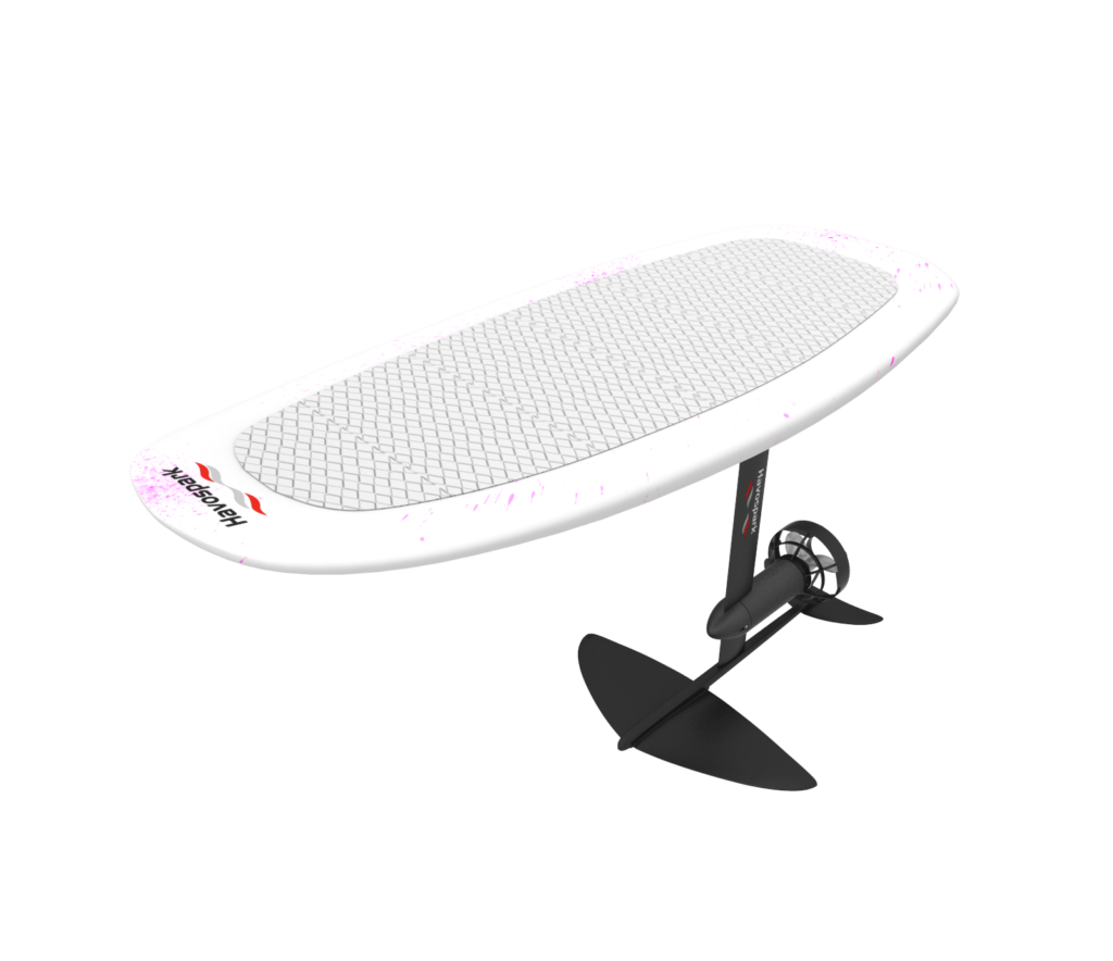 electric foil surfboard from Hoverstar