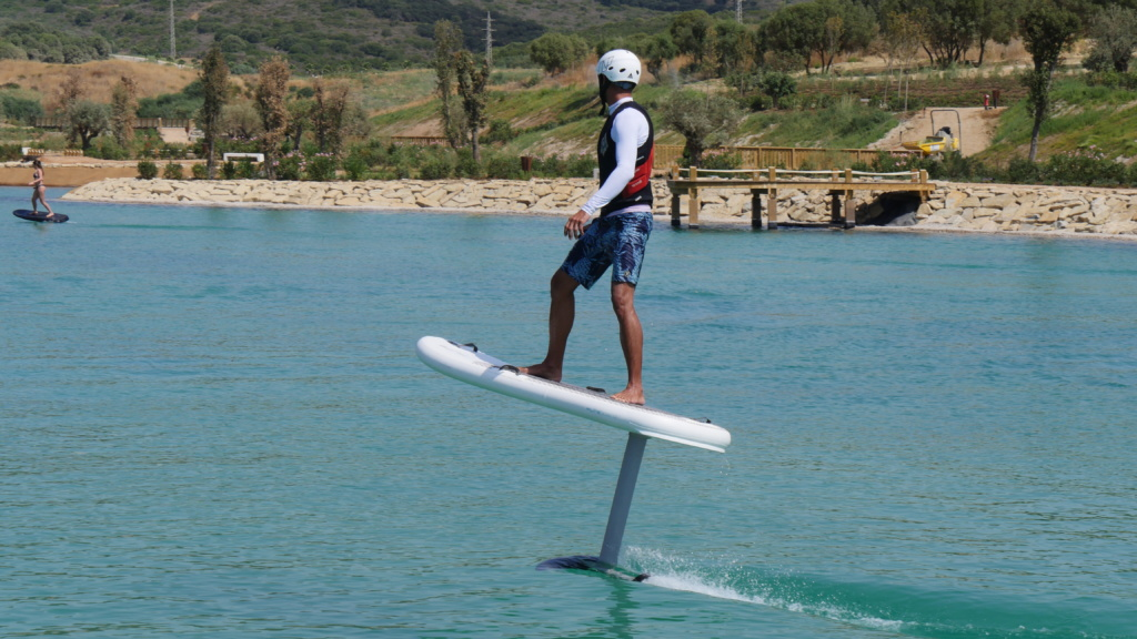 inflatable electric hydrofoil