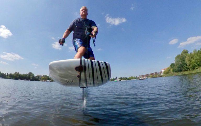 Lift Foils eFoil Cruiser electric hydrofoil