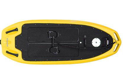 Loawai surfboard yellow
