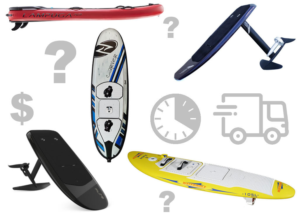 Best electric surfboards - Who is shipping?