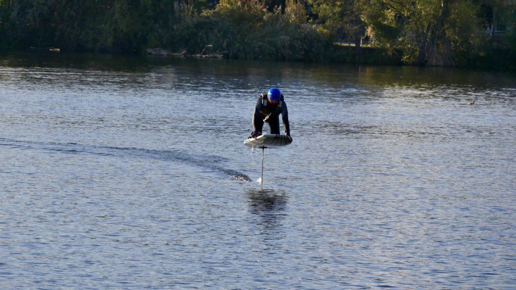Elektro Hydrofoil Selbstbau Team: Jeder der 4 hat es geschafft