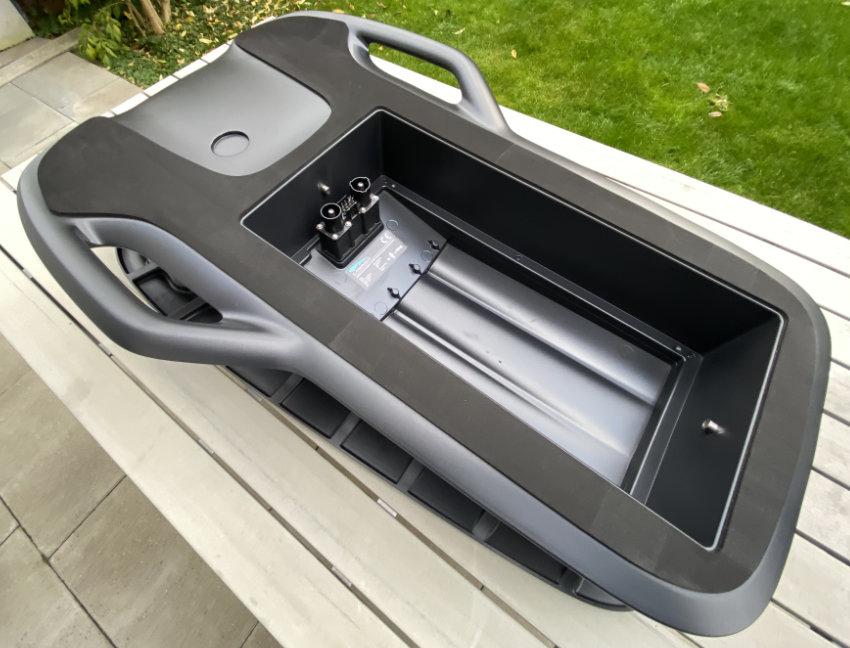 Lampuga Powerbox- Lampuga Air Jetboard unboxing review