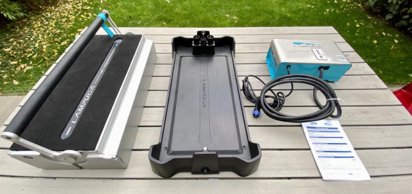 Lampuga battery and charging station