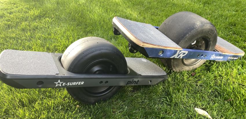 Onewheel+ XR versus Onewheel Pint