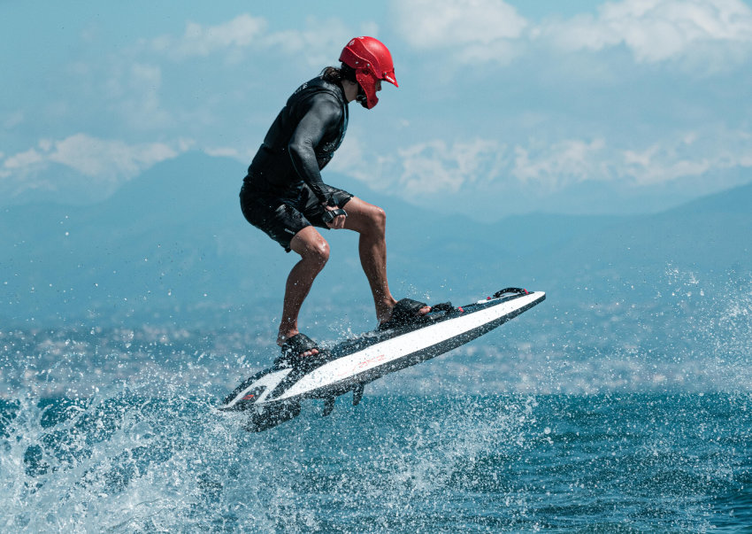 Awake Boards electric surfboard
