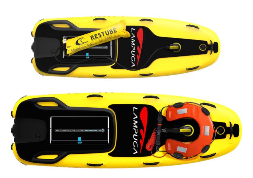 Jetboard zur Seenotrettung