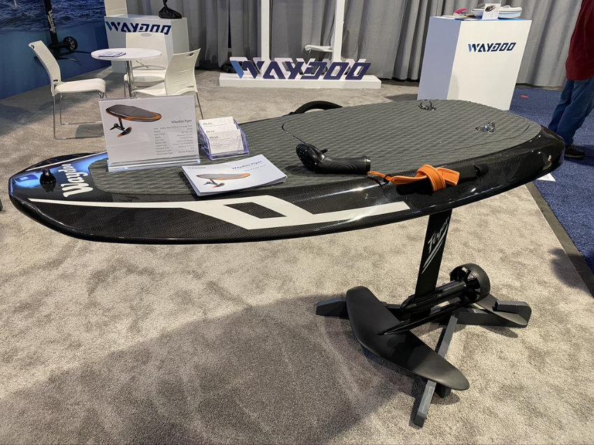 2020 Waydoo Flyer flying surfboard