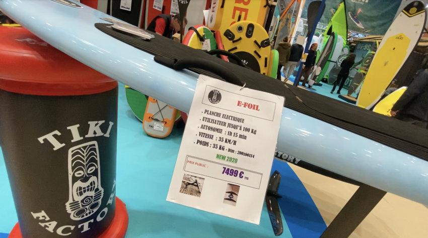 TIKI Factory E-FOIL Elektro Foil Surfbrett aus Frankreich