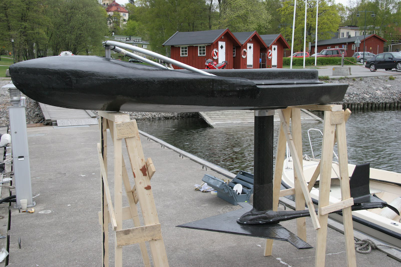 How to build an eFoil: First DIY electric hydrofoil in 2008