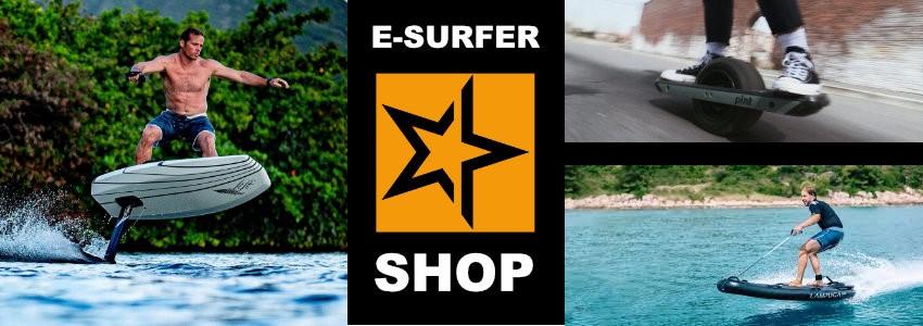 E-Surfer Shop - eFoils, Jetboards, Onewheels und mehr