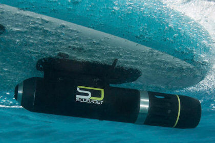 Scubajet electric SUP motor