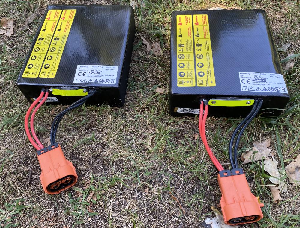 Elektro Surfbrett Batterie von EWAKE
