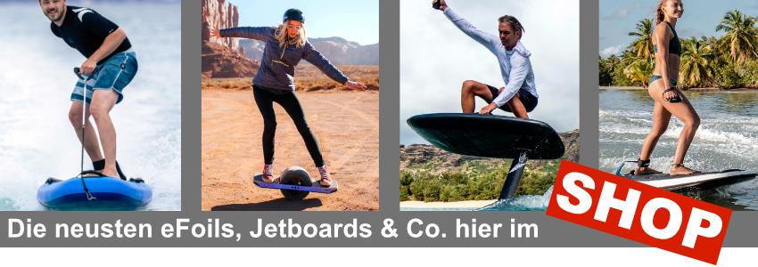 Elektro Surfbrett eFoil Jetboard Shop