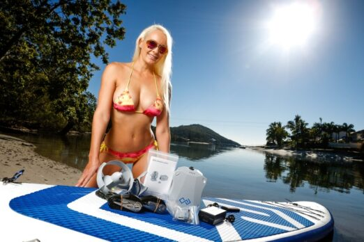 Electric SUP boards help you to explore the nature