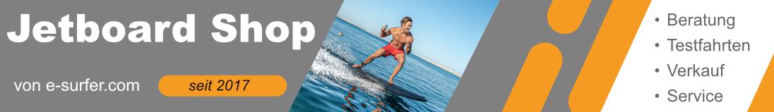 Elektro Surfbrett Jetboard Shop