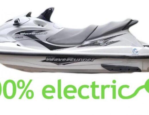 Der schnellste Elektro Jetski