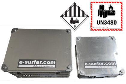 Elektro Surfbrett Batterie Box in verschiedenen Größen