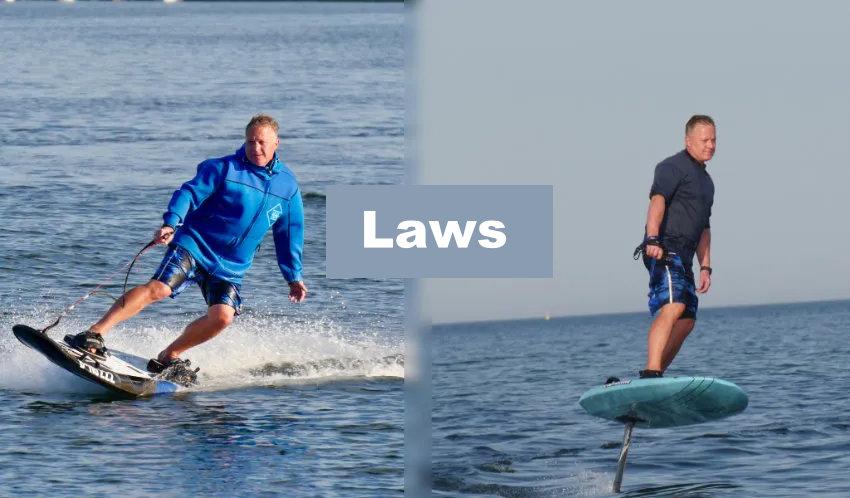 eSurfboard laws