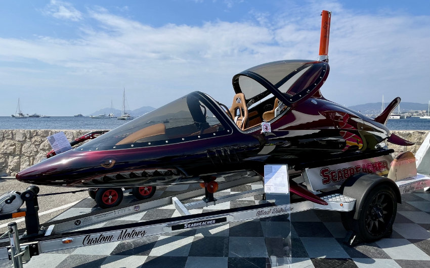 Luxury Water Toys auf dem Cannes Yachting Festival