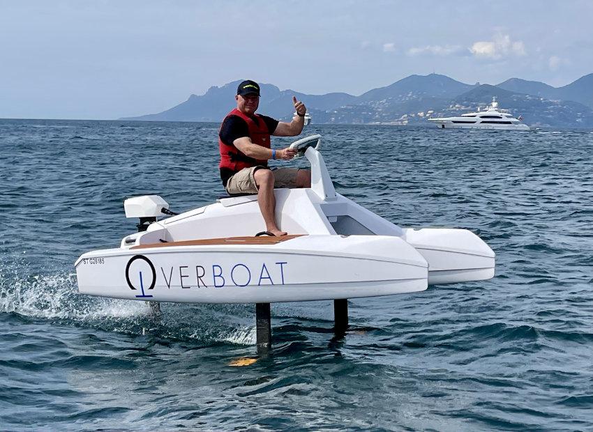 Overboat Elektro Hydrofoil Jetski